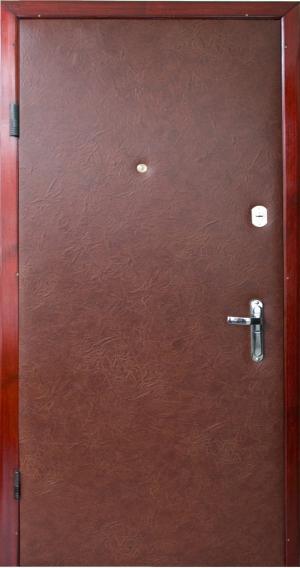 входные двери кожа