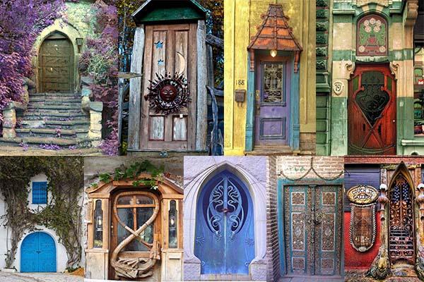 20 Античных дверей в стиле винтаж