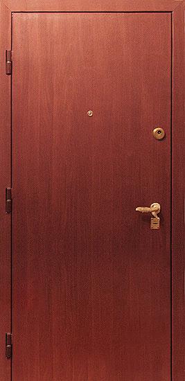 металлические двери порошковое напыление под дерево