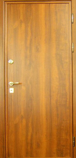 Как обшить дверь ламинатом