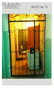 Решетчатые двери № 10