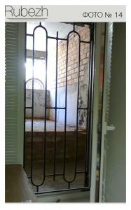Решетчатые двери № 14