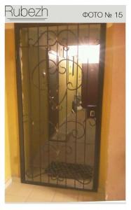 Решетчатые двери № 15