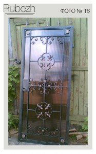 Решетчатые двери № 16