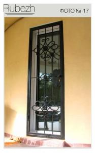 Решетчатые двери № 17
