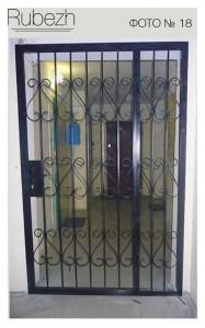 Решетчатые двери № 18
