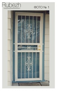Решетчатые двери № 1