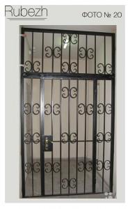 Решетчатые двери № 20