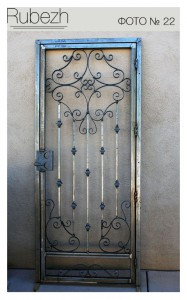 Решетчатые двери № 22