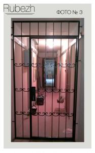 Решетчатые двери № 3
