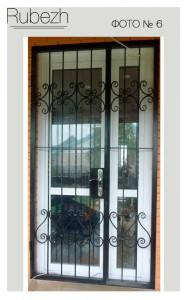 Решетчатые двери № 6